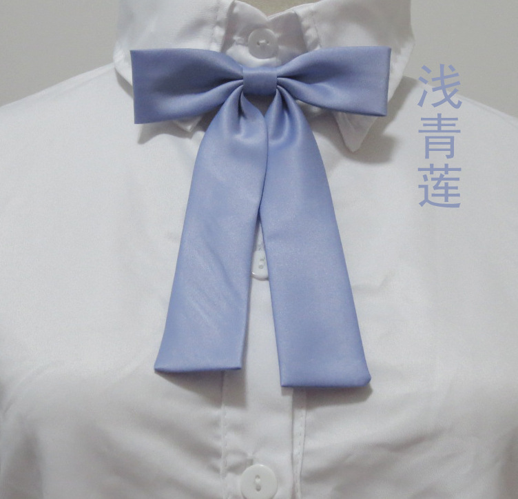 Damen-accessoires Kesebi 2018 Frühling Sommer Weiblichen Beiläufigen Klassischen Grundlegende Studenten Schule Fliege Frauen Reine Farbe Uniform Krawatte Krawatten Bowties Bekleidung Zubehör