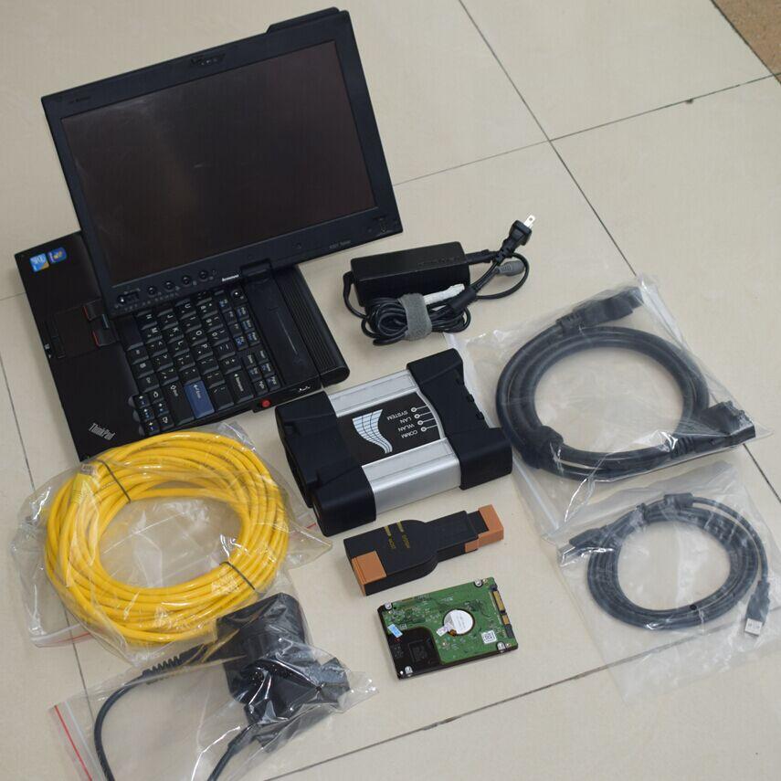 Mais recente Versão Especial para BMW ICOM Próximo para BMW ICOM UM BC Diagnostic & Ferramenta de Programação Com X201T I7 4G Laptop À Venda