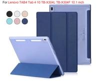Ultra Slim Smart Case For Lenovo TAB4 Tab 4 10 TB X304L TB X304F TB X304N