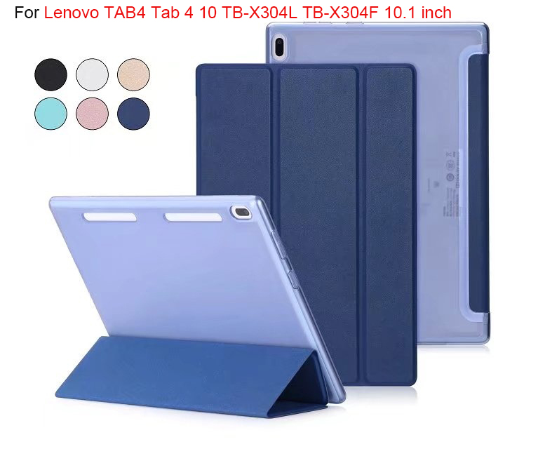 Ultra Slim smart Case For Lenovo TAB4 Tab 4 10 TB-X304L TB-X304F TB-X304N 10.1 tablet Cover Funda Tablet PU Stand Skin Shell magnetic stand smart pu leather case for lenovo tab 4 10 tb x304f x304n x304l 10 1 tablet funda cover free screen protector pen