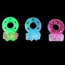 Intelligent Flash butterfly vibration lock fine ring penis sex toys for male men rings for men
