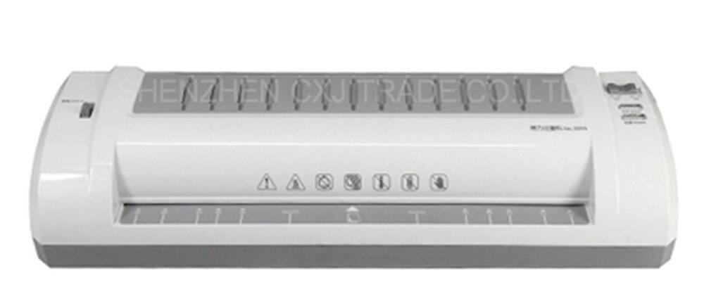 220VFree ship 1pc Deli 3894 Application of A3 fashion professional mute type laminating machine Deli 3894 A3 Laminator