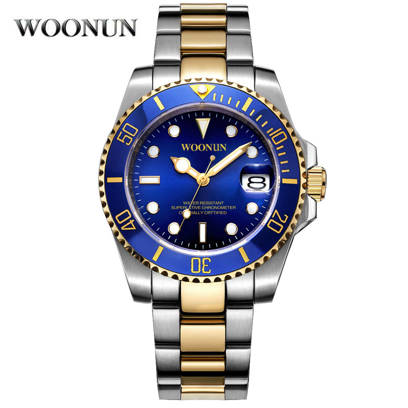 Men Mechanical Watches Casual Automatic Self-Wind Luminous Dial Horloges Mannen Reloj De Hombre