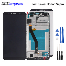 Original For Huawei Honor 7A pro AUM-L29 Aum-L41 LCD Display Touch Screen Digitizer Phone Parts With Frame For Honor 7A Pro LCD цены