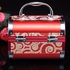 Image 4 - Jewelry Box High grade Metal 2020 New with High Quality Lock for Wedding Souvenir