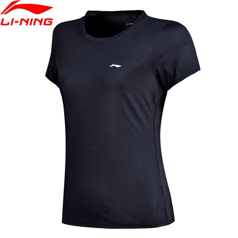 Li-Ning Women Training T-Shirt Regular Fit Nylon 80% Spandex 15% Polyester 5% LiNing Breathable Sports Tee Tops ATSN002 WTS1364Li-Ning Women Training T-Shirt Regular Fit Nylon 80% Spandex 15% Polyester 5% LiNing Breathable Sports Tee Tops ATSN002 WTS1364