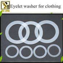 20 шт пластиковая шайба для одежды прозрачная нейлоновая прокладка