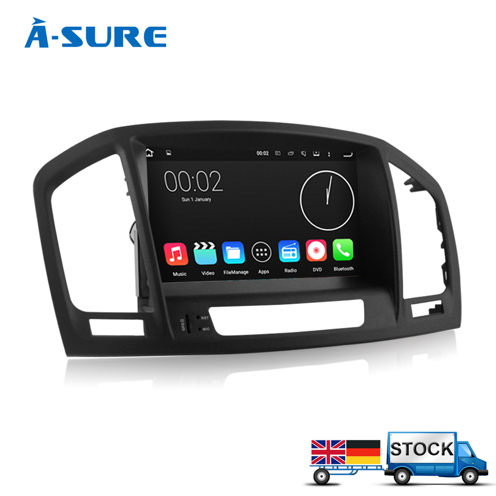 A-sure Android 5.1 8 ''Auto GPS Radio-Navigations für Vauxhall Opel Insignia WIFI...