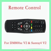 2016 New Black Multi-Fonctionnelle DM800se V2 Télécommande Pour DM800HD SOI V2 & Sunray4 V2 Satellite Câble Récepteur livraison Gratuite