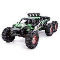 2018 новый пульт дистанционного Управление автомобили игрушки 1:12 2,4 ГГц 6WD rc офф роуд пустыня грузовик RTR 60 км высокое Скорость металл амортиза