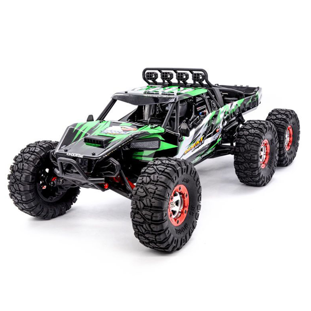 2018 New Remote Control Cars Toys 1:12 2.4GHz 6WD RC Off Road Desert Truck RTR 60km High Speed Metal Shock Absorber RC Car Gifts