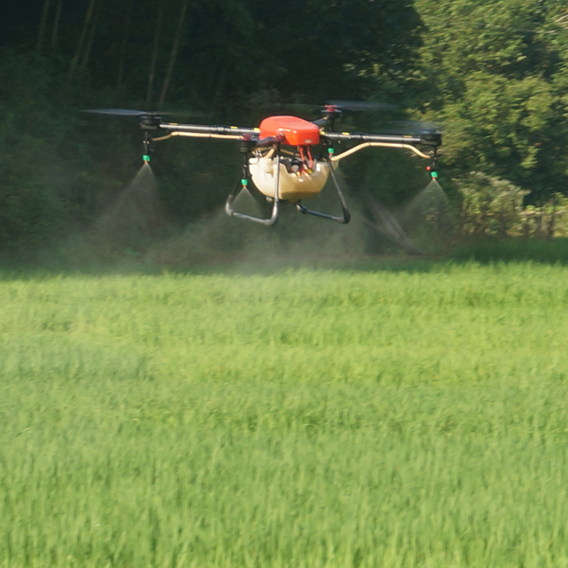 X4 10 drone agrícola Marcos kit 10 kg quadcopter pulverización drone ...