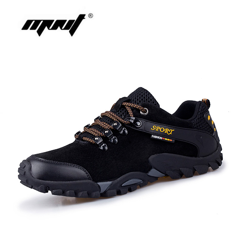 Sapatos de couro de camurça completa homens confortáveis sapatos casuais moda sapatos de caminhada antiderrapante ao ar livre lace up sapato homens