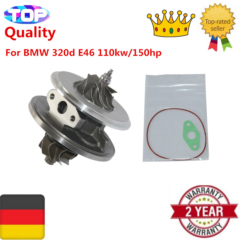 Turbocharger Turbo CHRA for BMW 320d E46 110kw/150hp 11657794144 750431 turbo core 750431 turbo cartridge for bmw 320d e46 gt1749v 750431 turbo chra for bmw 320d e46 x3 2 0 d 150 hp