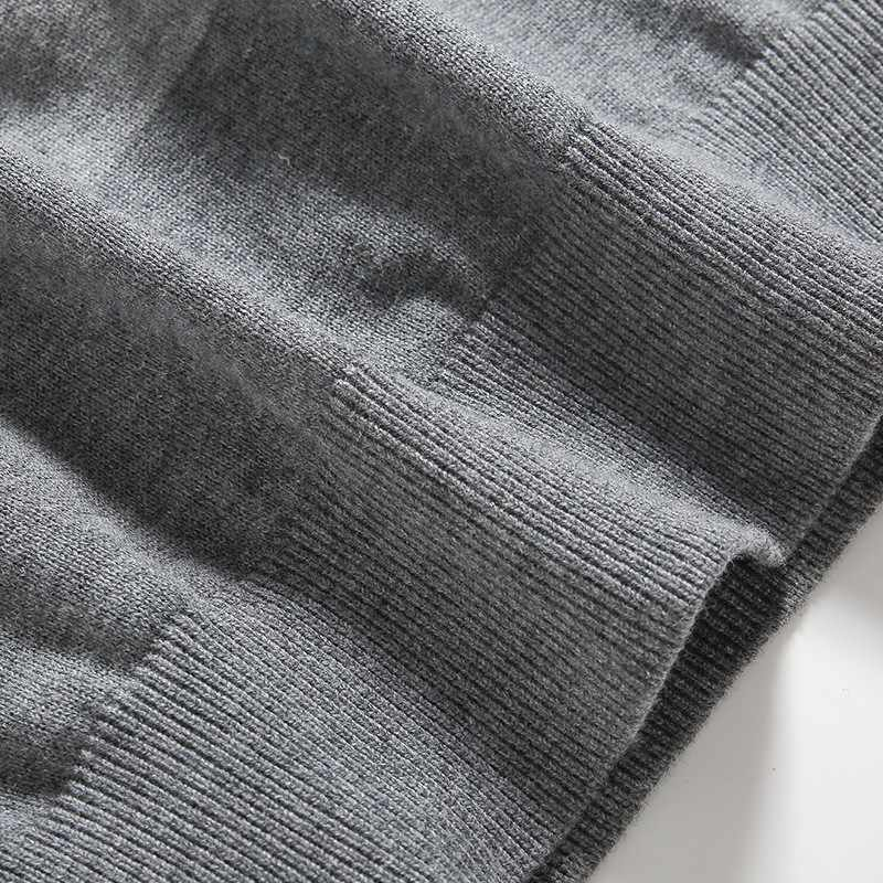Varsanol Hombres Suéter de Algodón de Manga Larga Outwear Jerseys hombres O-cuello Suéter de Las Tapas Sueltas Rayas Fit Knitting Ropa Más Nueva
