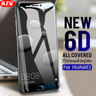 AZV 6D Full Screen Protector For Huawei P10 P9 P8 Lite P9 P10 Plus Tempered Glass For Huawei Mate 8 9 10 Lite Protective Film