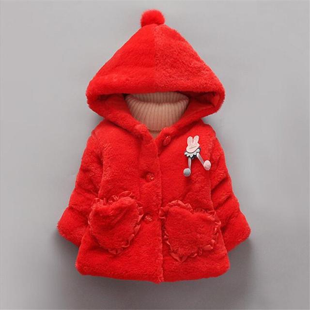 Moda da pele do falso princesa outerwear para o inverno quente e confortável com capuz casacos infantil dos desenhos animados da criança roupas asa