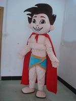POLYFOAM High Quality Costume Muscle Super Boy Mascot Costumes