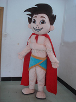 POLYFOAM High Quality Costume Muscle Super Boy Mascot Costumes