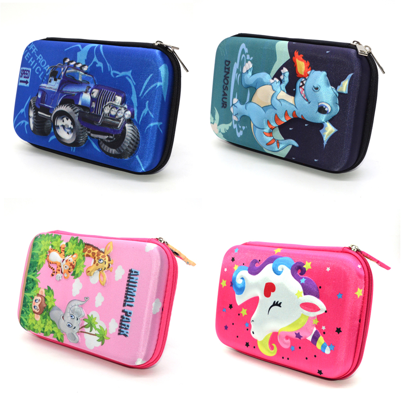 Deer Pencil Case Estuche Escolar Kawaii Trousse Scolaire Stylo PU Leather Pen Case Pencil Box Pencilcase School