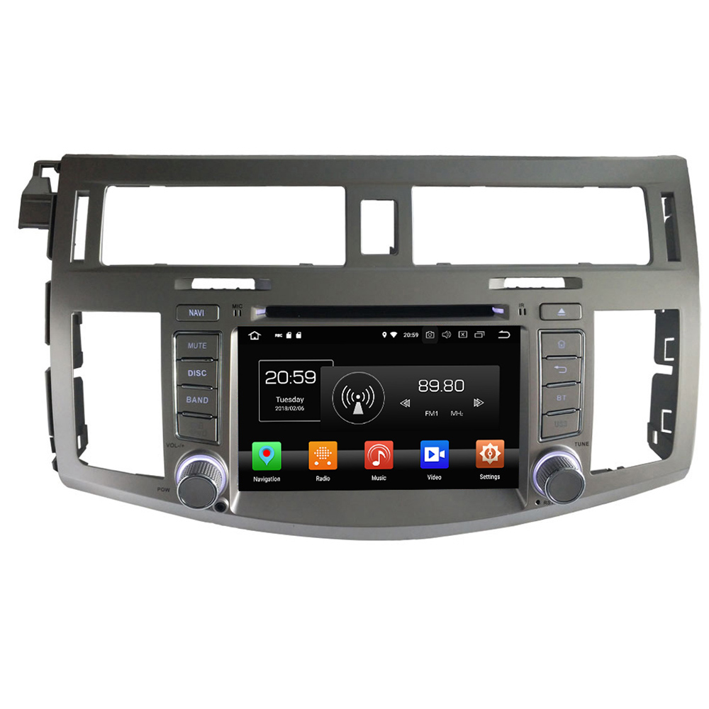 Octa Core 4GB RAM 32GB ROM 2 DIN 3G 4G WIFI GPS Android 8.0 Car Radio Stereo Player for Toyota Avalon 2005 2012