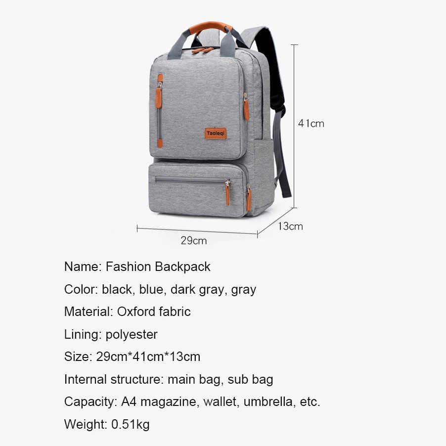 2019 חדש אופנה 15.6 אינץ מחשב נייד תרמיל גברים רב תכליתי עמיד למים תרמילי זכר בית ספר תיק נסיעות תרמיל המוצ 'ילה