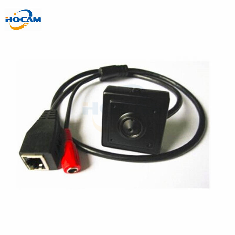 Hqcam 720 p ONVIF 2.0 1.0MP 25FPS seguridad interior mini cámara ip cctv mini cámara 3.7mm lente de vigilancia IP cámara 1/4