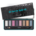 Professional 8 Colors Naked Eyeshadow Palette Smoky Makeup Shimmer Eye Shadow Palette Box Kit With Double End Brush &Mirror