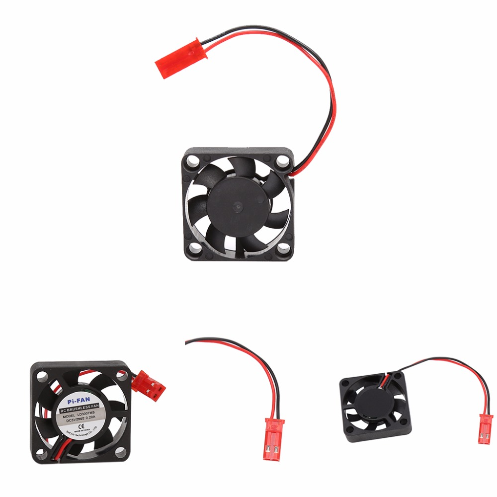 DC 5V/12V 30*30*7mm Small 2Pin Brushless 2-Wire 3007S Axial Cooler Cooling Fan gdstime 10 pcs dc 12v 14025 pc case cooling fan 140mm x 25mm 14cm 2 wire 2pin connector computer 140x140x25mm