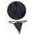 Preto Com Zíper Cintura Instrutor Corset Lace Up Plus Size Steampunk Espartilhos E Bustier Overbust Sexy Trainer Cintura Corset Shaper TYQ