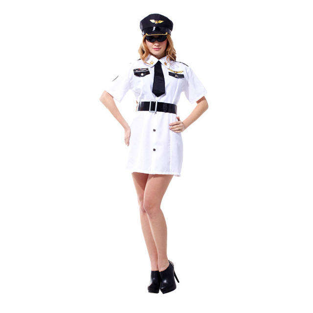 Women's Policewomen Dress Costume