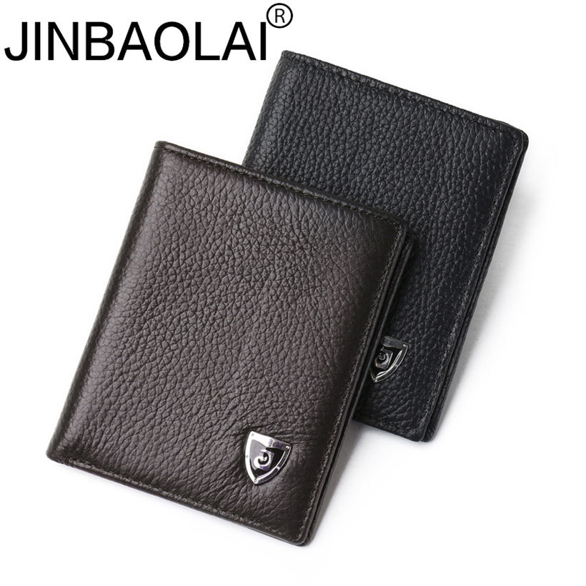 Slim Short Designer Brand Small Thin Mini Genuine Leather Men Wallet Male Purse Bag Card Holder Money Perse Walet Cuzdan Vallet joyir vintage men genuine leather wallet short small wallet male slim purse mini wallet coin purse money credit card holder 523