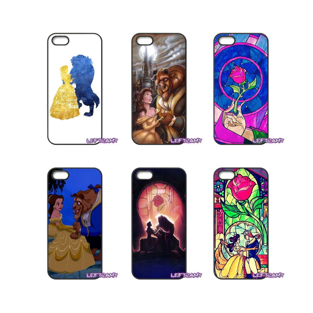 Beauty and the Beast Hard Phone Case Cover For iPhone 4 4S 5 5C SE 6 6S 7 8 Plus X 4.7 5.5 iPod Touch 4 5 6
