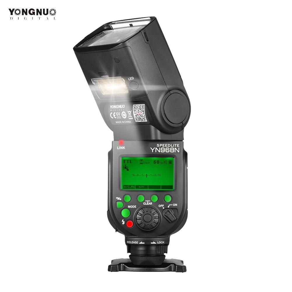 YONGNUO YN968N Flash Speedlite for Canon Nikon DSLR Compatible with YN622N YN560 Wireless TTL Speedlite 1