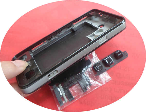 SEAPROMISE Free shipping wholesale 5PCS LOT mobile phone housing for SAMSUNG Star II Duos C6712