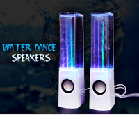 Dancing Water Speaker Portable Mini USB LED Light Bluetooth Speakers Subwoofer Water Column Audio For Phone