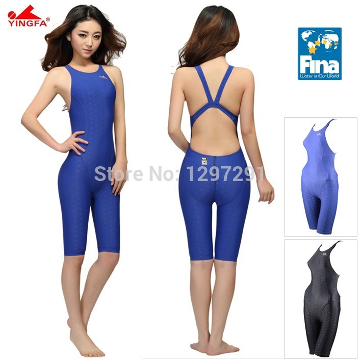 Yingfa FINA Approval Professional One-Piece Swimwear Women Swimsuit Sports Racing Competition Tight Bodybuilding Bathing Suit phinikiss printed racing swimwear large size one piece suit professional swimsuit sport bathing suit competition 2016 triathlon