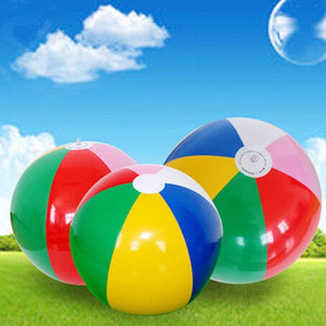 Beach Ball In Water aliexpress : buy hot new colored inflatable 40cm beach ball