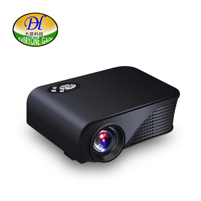Special Price Everyone Gain Mini280 Mini Projector Home Theater LED TV Portable Projector HDMI USB HD Cheap Video Projector Best LED Projector