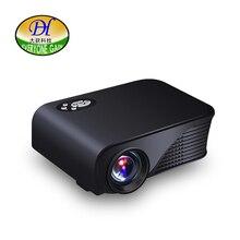 Все усиления mini280 мини-проектор для домашнего Театр LED ТВ Портативный USB HDMI проектор HD дешевые видеопроектор Best светодиодный проектор