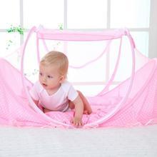 купить 0-3 Years Baby Bed Tent Crib Mattress Portable Foldable Mosquito Net Newborn Bedroom Travel Bed Baby Bed по цене 905.97 рублей