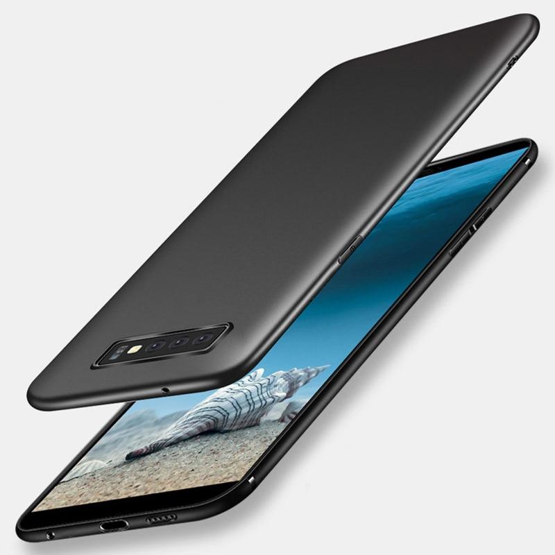 Case For Samsung Galaxy S10 Case Anti-Fingerprint Bumper Slim Frosted Matte Cover For Samsung Galaxy S10 Plus S10 E