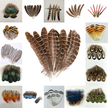 10-500 шт Высокое качество красивые натуральные перья павлина перо фазана ювелирные изделия Рождество праздник украшения на выбор