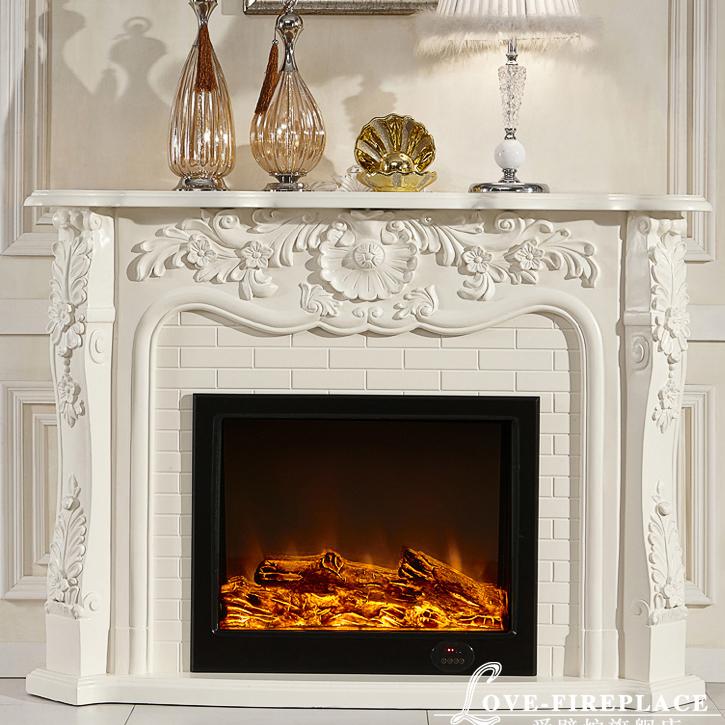 estilo francs repisa de la chimenea de madera ms relleno de la