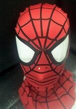 Spider Man Mask Hood spiderman mask halloween scary maske cosplay mascaras party Dark Avengers Carnaval Costume