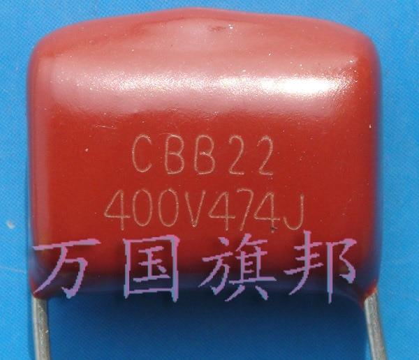 Free Delivery. CBB21 CBB22 Metallization Polyene Film Capacitor 400 V 474 0.47 UF