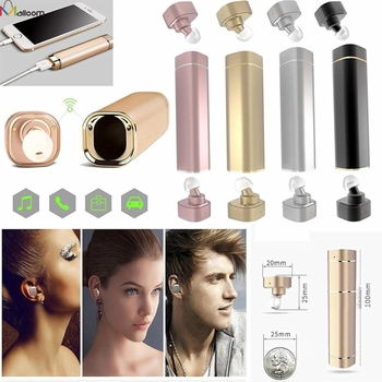 Stylish Mini Magnetic In-Ear Earphone Stereo Ear-buds Twins Earplug Bluetooth4.1 CVC6.0 Noise Cancelling Headsets for iPhone