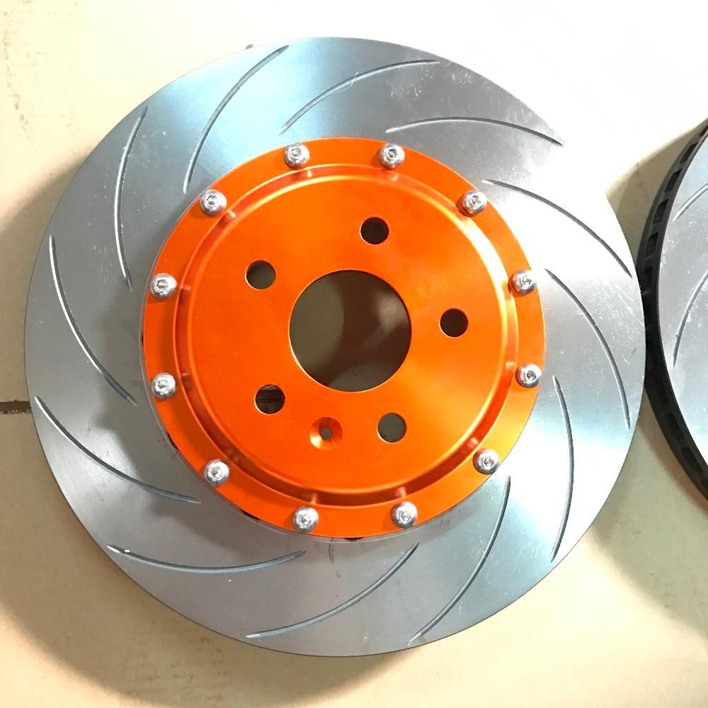 Jekit brake disc rotors 362*32mm Arc disk for honda s2000 for Honda accord 7/audi a4 b7 front for AP9040 red brake calipers