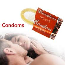 10 Pieces Lubricated Condoms Ultra Thin Sensation Penis Cock Sleeve Sex Products Sex Toys for Men Large Oil Natural Latex(China)