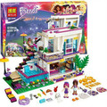 Bela 10498 Friends Series Livi's Pop Star House Building Blocks Andrea mini-doll Toy Compatible With legoe Friends 41135